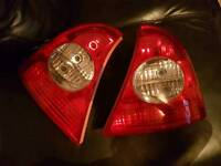 Clio rear lights and Lexus light