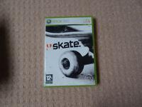 Xbox 360 Skate game