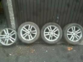 Mecedes 16 inch alloy wheels