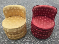 Pair of Sherbonne Tub Chairs, in good condition and nice colours.