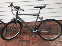 Grey Push Bike