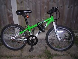 kid's bicycle for sale. Kid grew out it, so selling as unnecessary