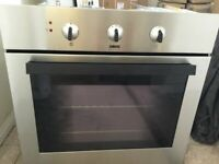 Zanussi Stainless Steel Electric Single Built In Oven