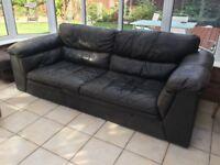 Well loved Sofa - needs new home - 220cm x 100cm x 70cm