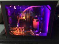 Gaming pc. Water cooled Custom loop