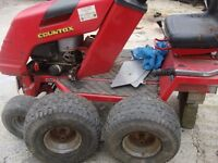 for sale full or parts garden tractor countax all parts good ready to go