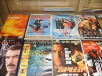 VHS VIDEOS WANTED - SMALL OR LARGE COLLECTIONS - CASH PAID