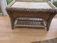 Conservatory furniture sofa chairs and coffee table