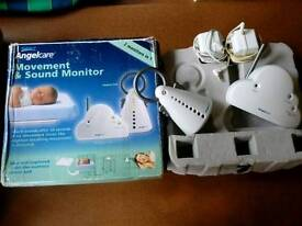 Angelcare Movement and Sound Baby Monitor AC201