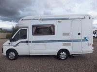 Autotrail Tracker EK Low Profile Two Berth Motorhome Excellent condition for sale £21,995