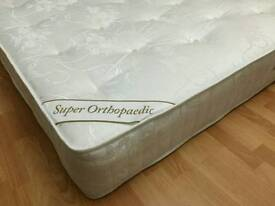 NEW 1000 pocket sprung super orthopaedic mattress 4ft6 5ft