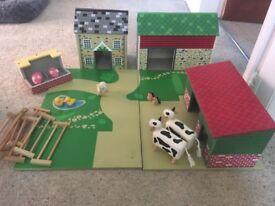Wooden ELC Farm yard play set