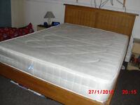 very strudy kingsize bed