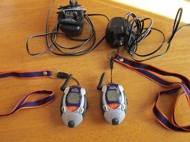 Binatone Expedition mini walkie talkies