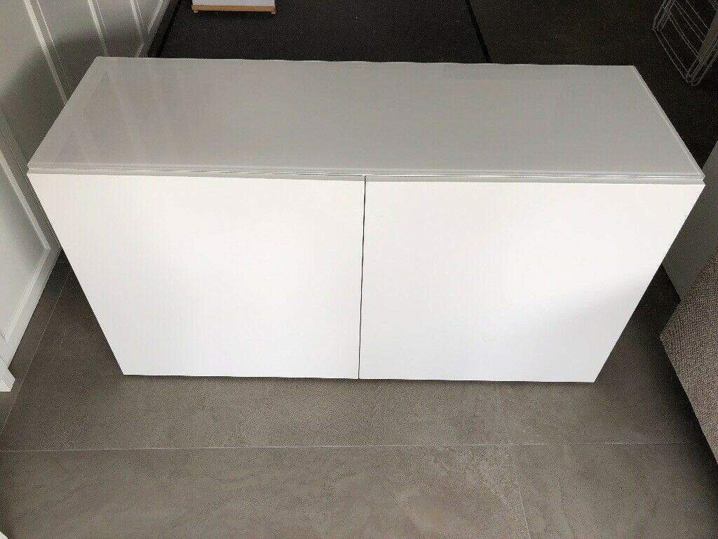 2 x IKEA BESTA units w/glass top panels (£35/£55 each or £85 for both) | in  Clapham, London | Gumtree