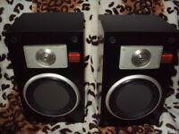 Vintage Technics SB-X110 Speakers