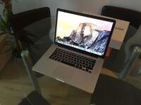 """MacBook Pro Retina Display 15"""" Top Spec Custom Build"""
