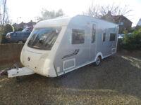 Swift Conqueror 540 2008 4 Berth Fixed Bed Touring Caravan For Sale