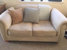Cream Leather 6 Seater Sofa In Wirral Merseyside Gumtree