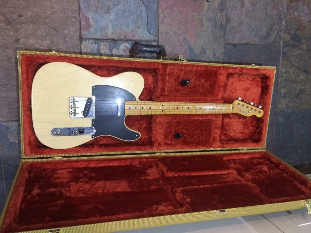 Fender 52 re Issue relic MJT telecaster sale or trade strat Gibson LP V Explorer