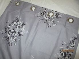 REDUCED PRICE CATHERINE LANSFIELD FLORAL BOUQUET CURTAINS