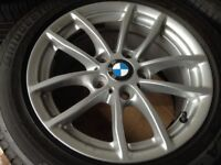 4 BMW wheel with tyres.. all in good condition