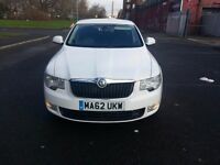 Skoda Superb 2012(62) MK2 1.6 TDI GreenLine CR S 5dr in immaculate condition