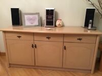 Dinning room table and matching sideboard