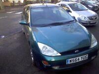 Ford Focus 1.6 Green 2000 Full 12 / 13 months MOT