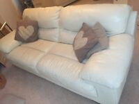 Three & two seater Leather sofa
