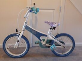 Frozen Bike and Helmet £15