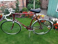 Gents 10 speed Raleigh Routier Racing Cycle
