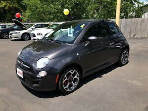 2016 Fiat 500 Sport- LEATHER INTERIOR, BLUETOOTH