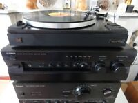 Vintage Audiophile Yamaha AX 596 with original remote-Control In Perfect Working Order
