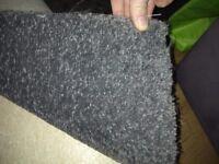 13x12 Grey carpet, brand new.