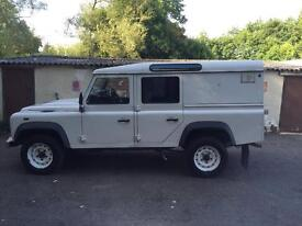 LAND ROVER DEFENDER. 110 double cab utility. 2008