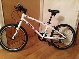 Frog -Tog 55 . Childs bike.