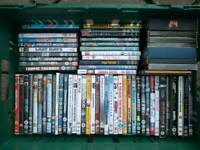 Collection of 50+ DVDs including box sets