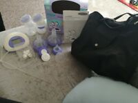 2 in 1 lansinoh electric breast pump