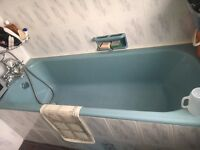 Cast Iron Bath, Sink and Toilet - Vintage, Classic, very strong bathroom furniture