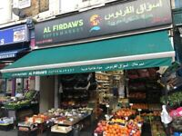 Shop for Sale Central London Grocery Business West London City of Westminster W9 Busy Main Road UK