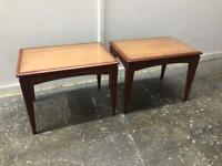 Vintage mid century tables