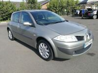 RENAULT MEGANE 1.6 AUTOMATIC IN TOP CONDITION. LONG MOT. 2 PREVIOUS OWNERS. PREVIOUS MOTs AVAILABLE