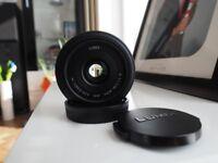 Panasonic Lumix G 20mm f/1.7 Aspherical AF Lens micro four thirds