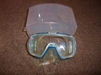 NEW Tusa Visio tri ex MP20JCB Scuba, or snorkeling mask NEW with Box