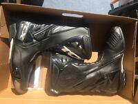 TCX Motorcycle Boots Size 9 Practically New