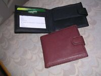 Men's top quality leather wallets