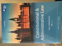 Constitutional and Administrative Law 8th edition