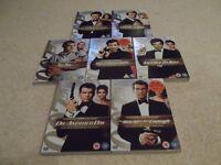 James Bond 2 disc Ultimate Edition DVDs @ £1.50 each