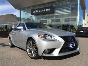 2014 Lexus IS 250 Premium Pkg Leather AWD Back Up Cam Sunroof Bl